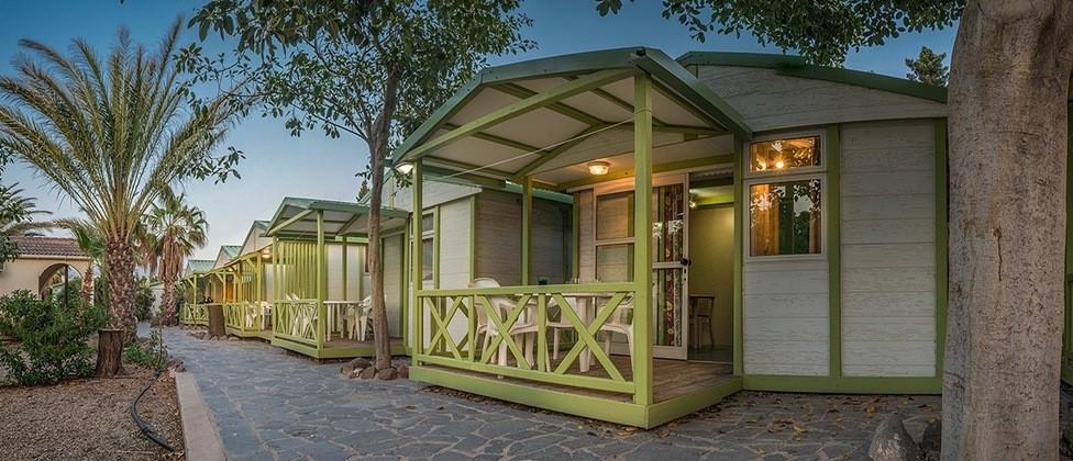 bungalow camping Los Escullos cabo de gata