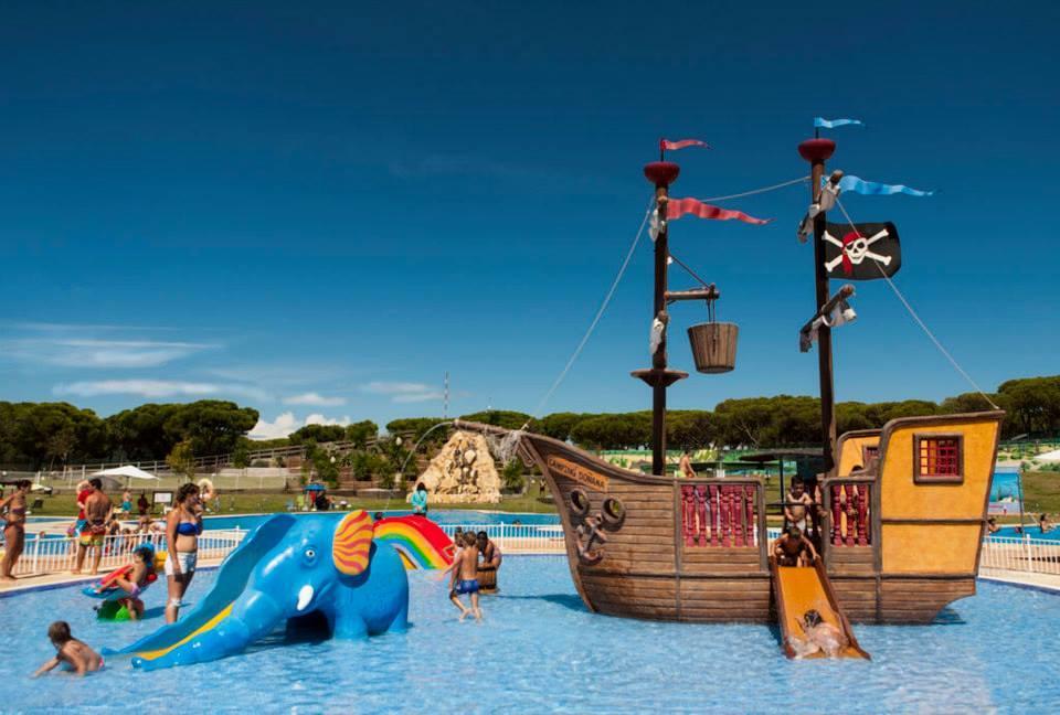 Camping Doñana Playa piscina infantil