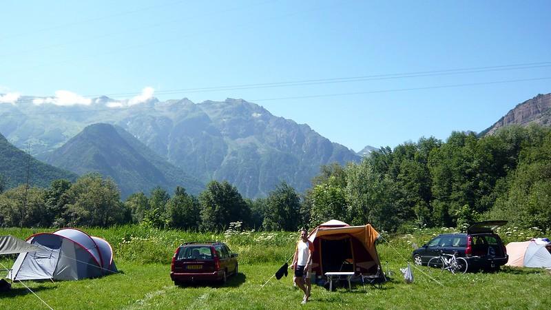Camping de montaña