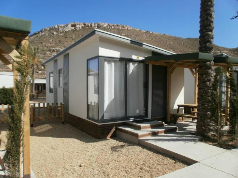 mobilhome premium Camping La Caleta