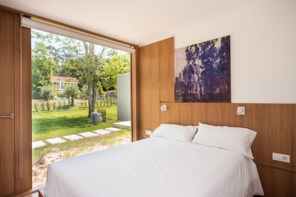 cama bungalow camping los manzanos