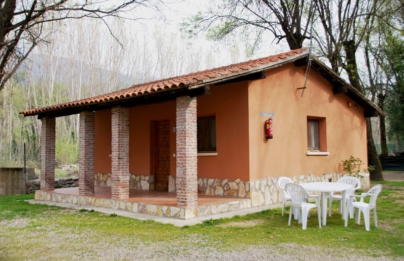 bungalow 8 personas Camping Valle del Jerte