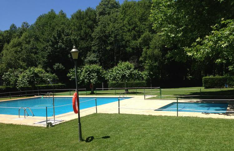 piscina camping valle del jerte