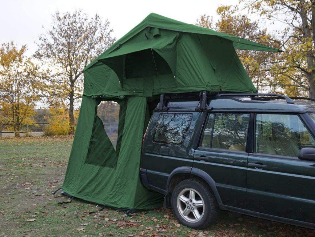 tienda de techo para coche