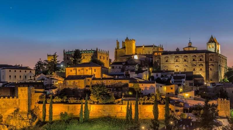 Casco antiguo ciudad vieja de Cáceres