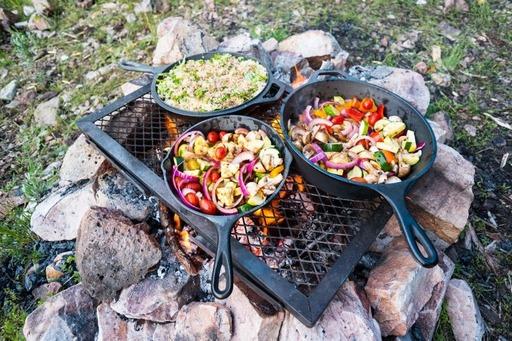 comida para un camping sin nevera