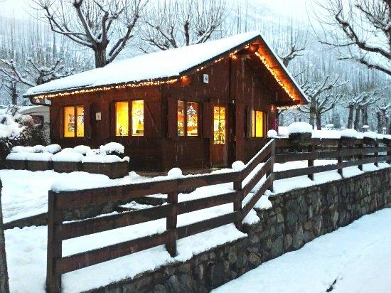 bungalow nieve romántico
