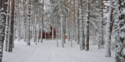 camping en invierno