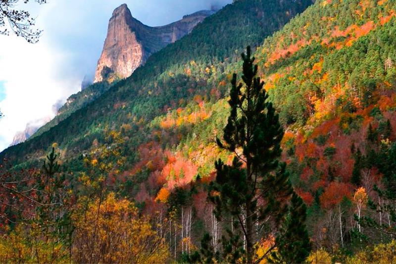 Parque Nacional de Ordesa y Monte Perdido en otoño