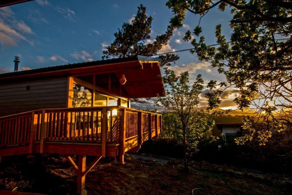 bungalow camping itxaspe pais vasco