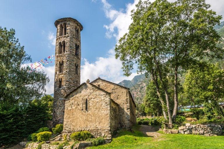iglesia romanica andorra