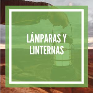 LAMPARAS Y LINTERNAS DE CAMPING