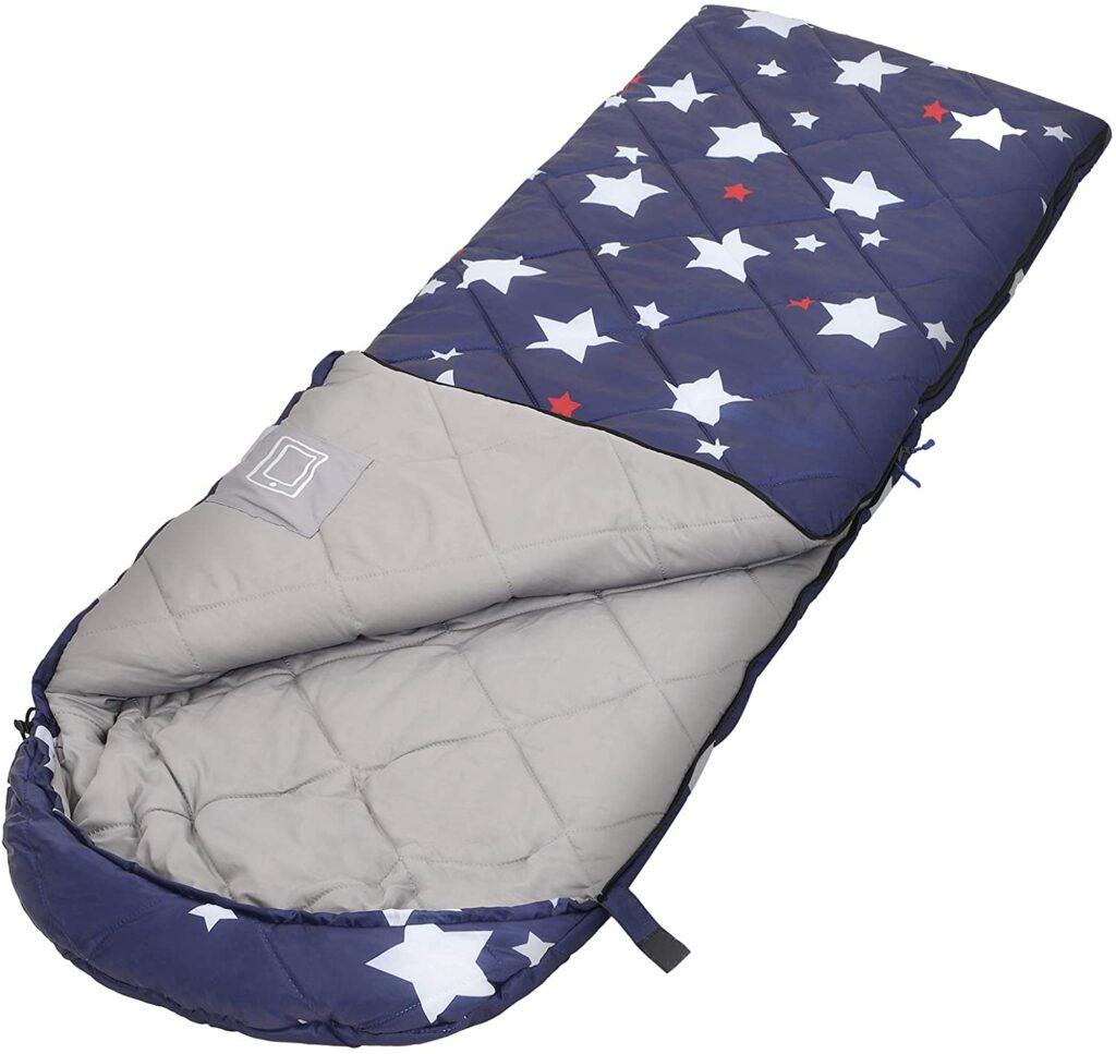saco de dormir infantil camping